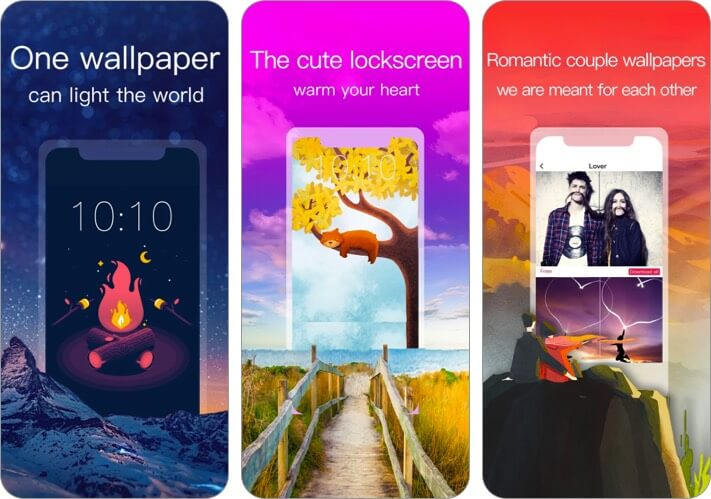 Wallpapers HD iPhone and iPad App Screenshot