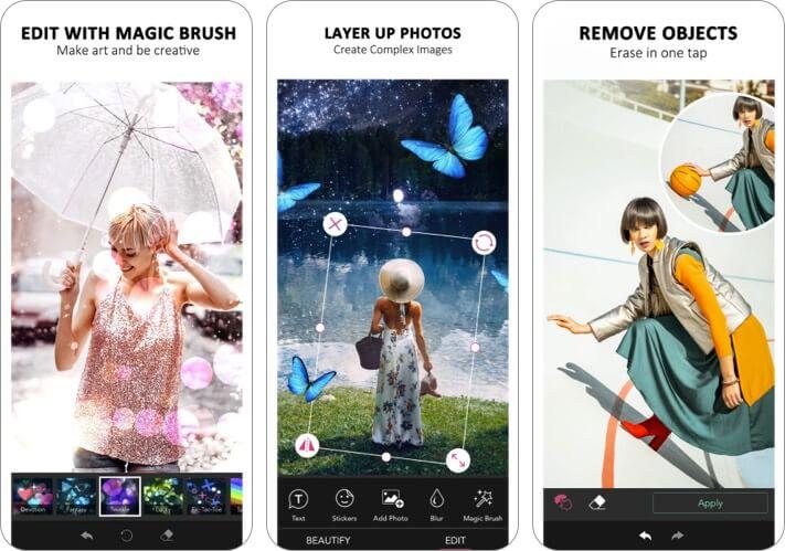 YouCam iPhone and iPad Selfie App Screenshot