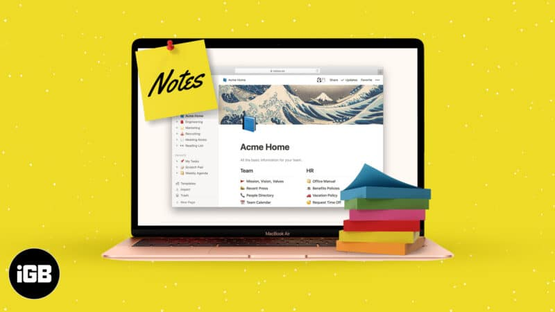 Best Note Apps for Mac