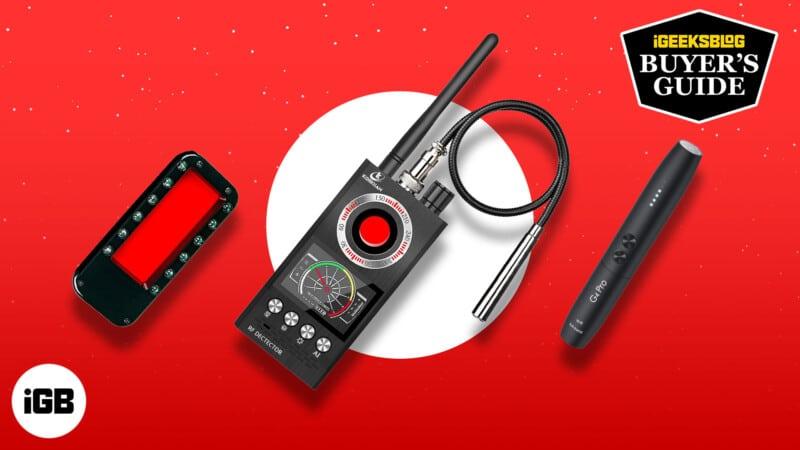 Best hidden camera detectors