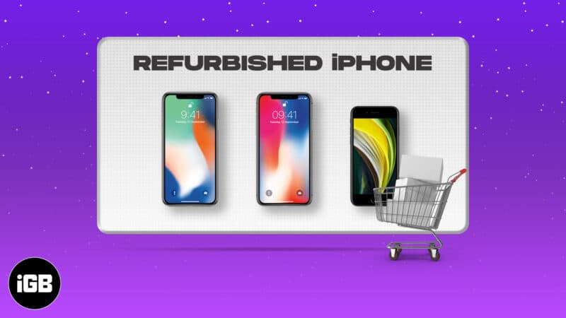 Best places to buy refurbished iPhones