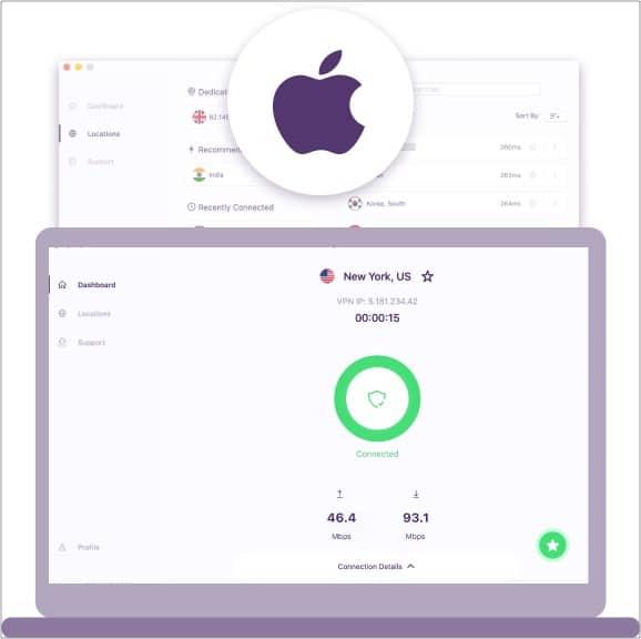 Download PureVPN App for Mac