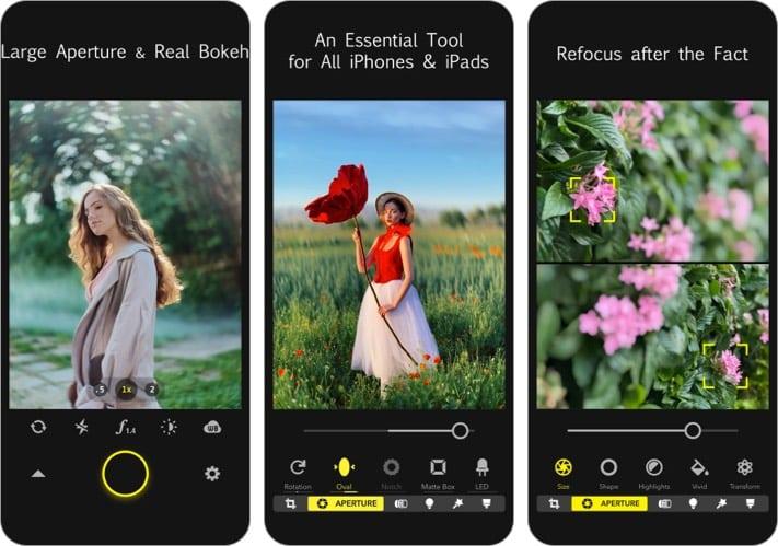 Focos Camera App for iPhone