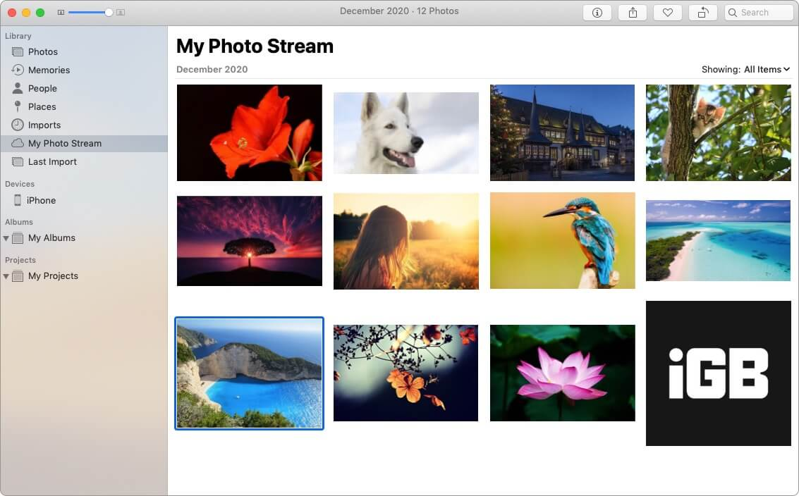 How does My Photo Stream work with iCloud Photos