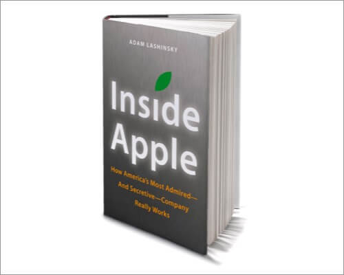Inside Apple must read book about Apple and Steve Jobs