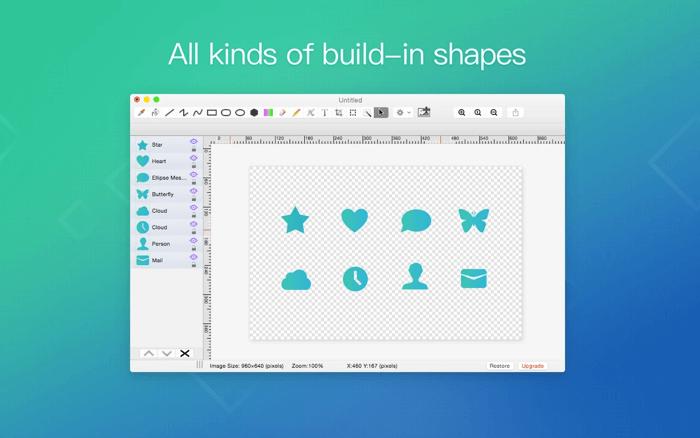 Paint S Photo Editing App for Mac Screenshot