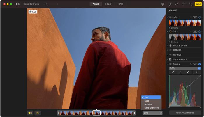 Photos Photo Editing App for Mac Screenshot