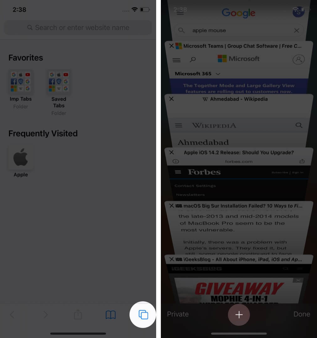 Pro tip access the bookmarked folder saved in Favorites
