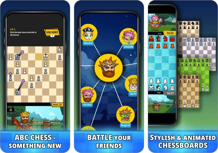 Chess Universe iPhone and iPad Game Screenshot