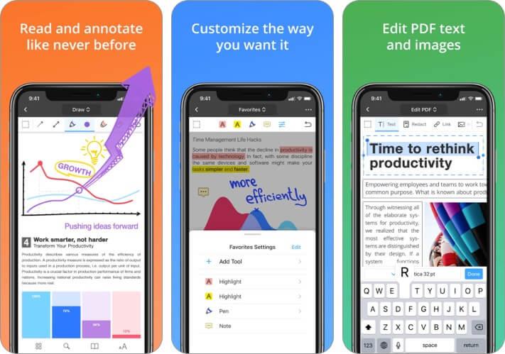 PDF Expert PDF Editor iPhone and iPad App Screenshot