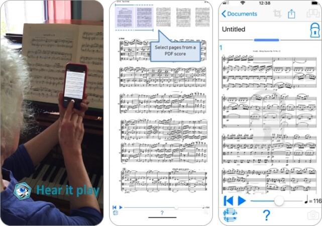 playscore 2 music app screenshot