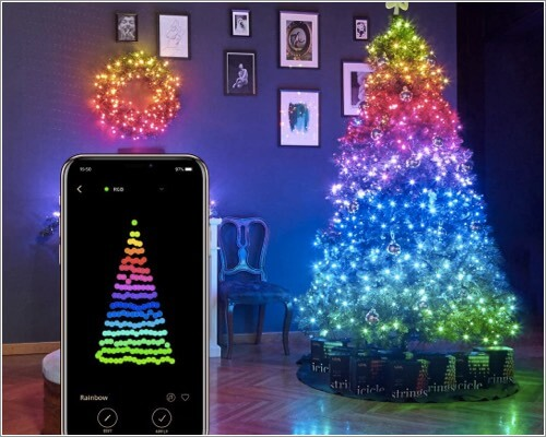 Twinkly Smart Decorations Custom LED Strings