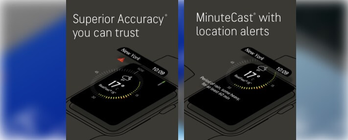 AccuWeather- Weather Radar Apple Watch App Screenshot