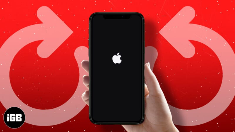 How to force restart iPhone and iPad