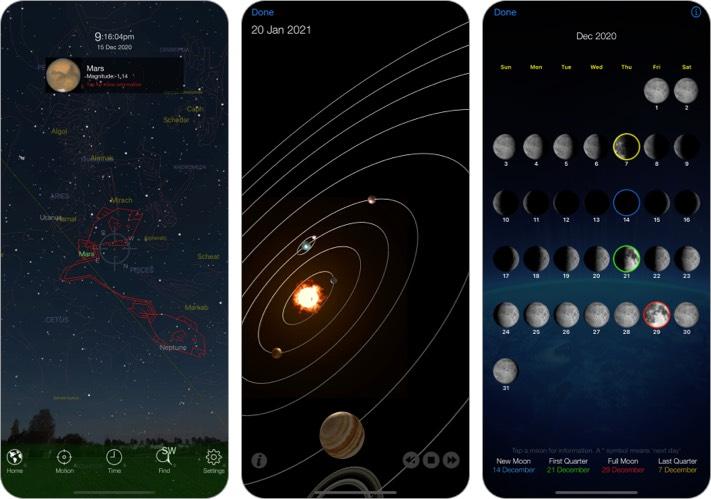 Pocket Universe Stargazing iPhone and iPad App screenshot