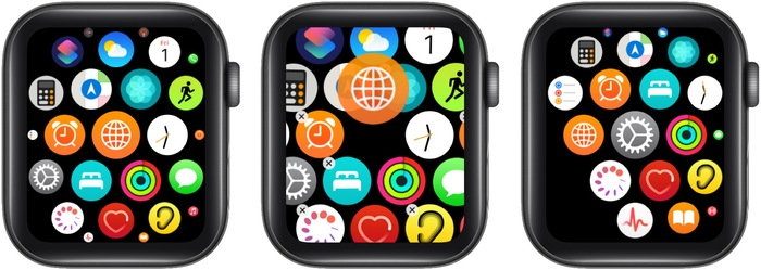 Be creative when editing Apple Watch Home Screen app layout