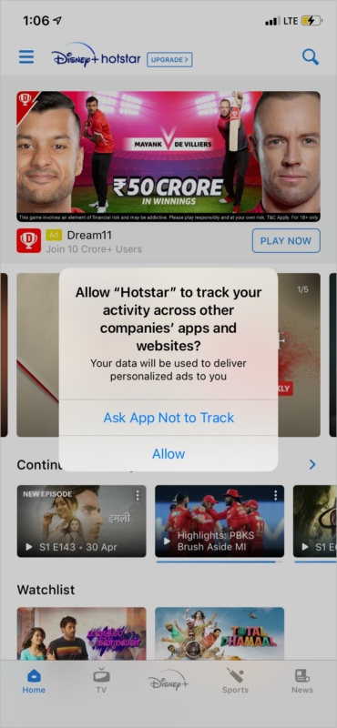 How to stop a particular iPhone app from tracking you