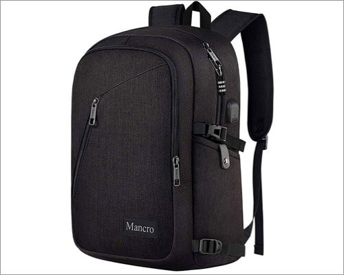 Mancro Anti-Theft Backpack for MacBook