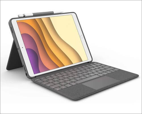 Logitech keyboard case for iPad Air 3