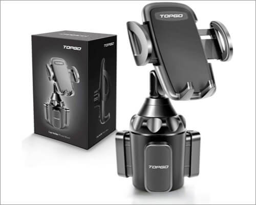 TOPGO car cup holder iPhone car accessory
