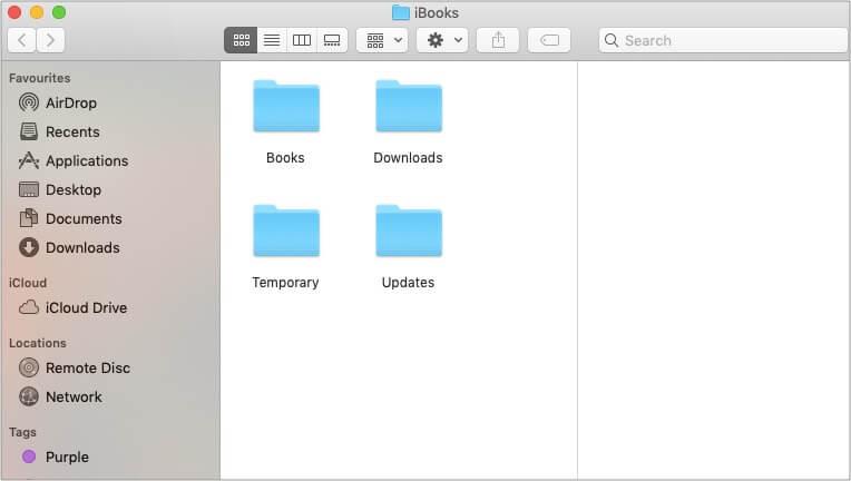 Чтобы получить доступ к своим iBooks, откройте папку «Книги» на Mac.
