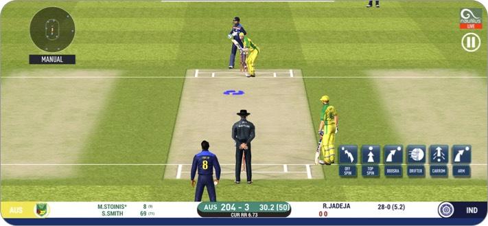 реальный крикет 20 скриншот приложения для iphone и ipad