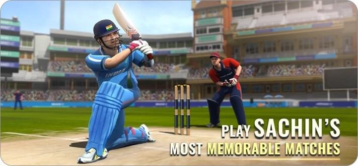 сачин сага чемпионы по крикету iphone и ipad скриншот игры в крикет