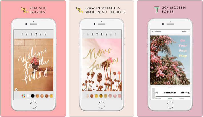 A Design Kit Instagram Story iPhone App Screenshot