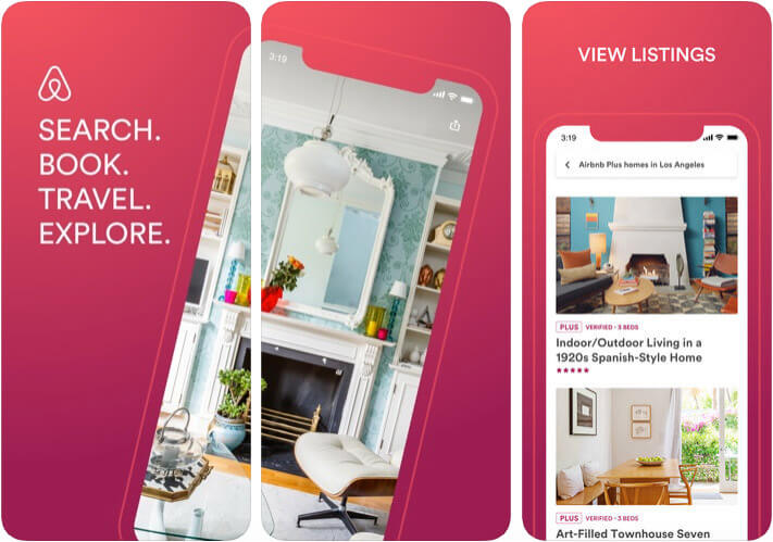 Airbnb Apple Pay Support iPhone and iPad App Screenshot
