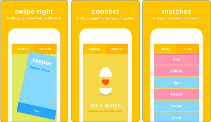 BabyName iPhone and iPad App Screenshot