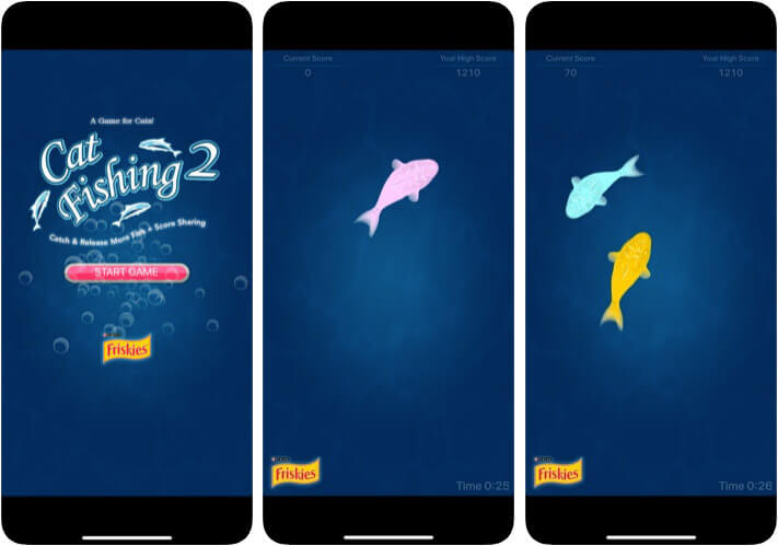 ‎Cat Fishing 2 Pet Care iPhone and iPad App Screenshot