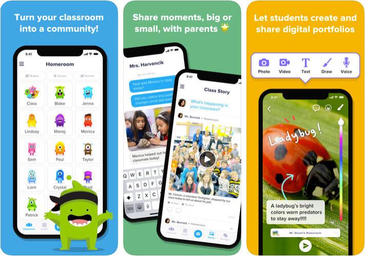 ClassDojo Classroom Management iPhone and iPad App Screenshot