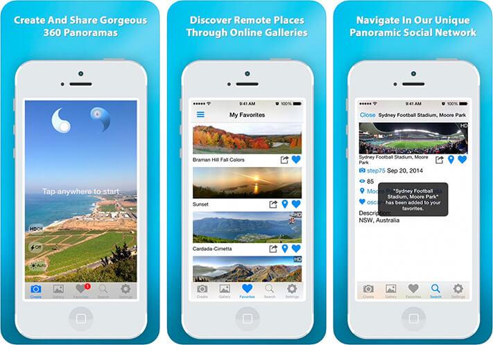 DMD Panorama iPhone App Screenshot