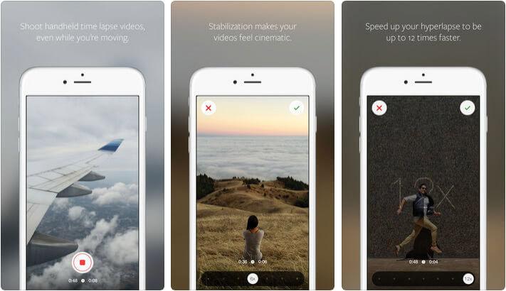 Hyperlapse Instagram Stories iPhone App Screenshot