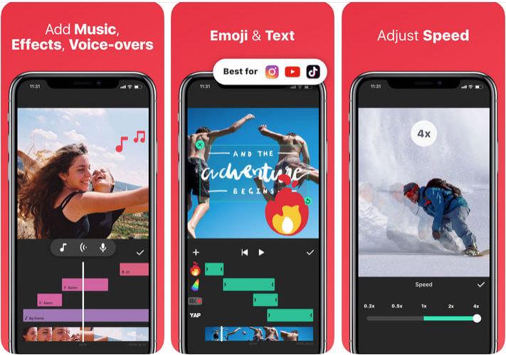 InShot Instagram Stories iPhone App Screenshot