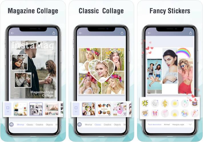 InstaMag Instagram Collage iPhone App Screenshot