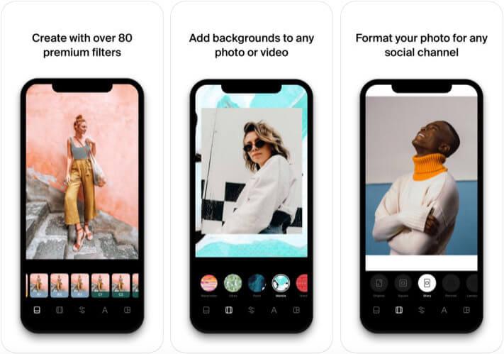 Instasize Instagram Collage iPhone App Screenshot