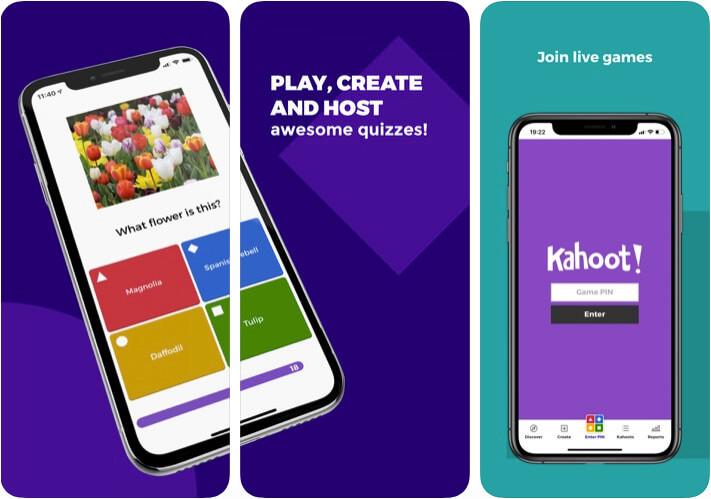 Kahoot Classroom Management iPhone and iPad App Screenshot