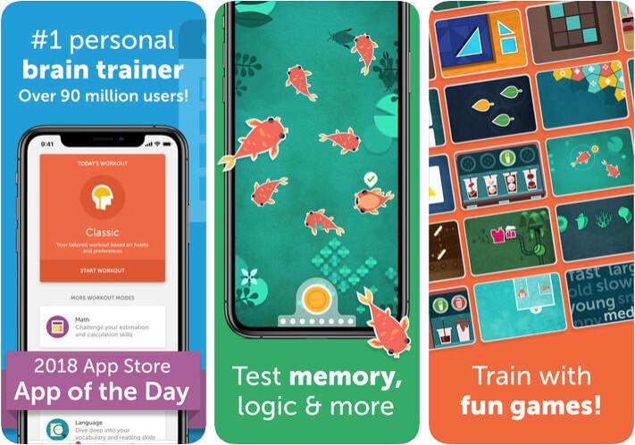 Lumosity Personality Development iPhone and iPad Game Screenshot