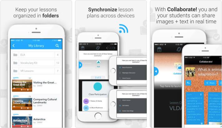 Nearpod iPhone and iPad Assessments App Screenshot