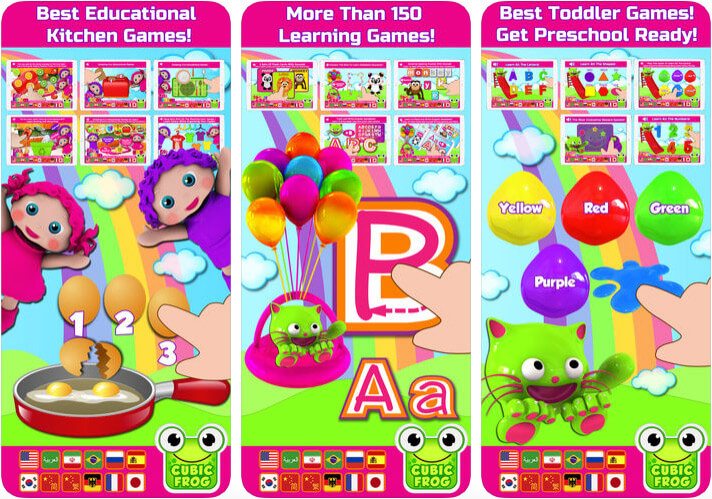 ‎Preschool Kids Learning iPhone and iPad Game Screenshot