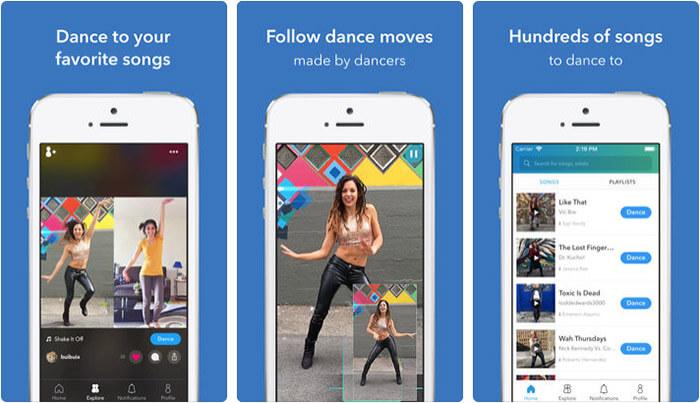 Trance iPhone and iPad Dance App Screenshot
