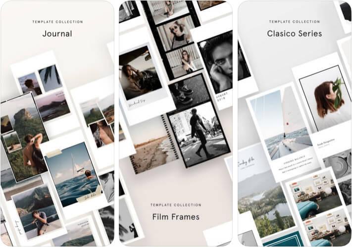 Unfold Instagram Stories iPhone App Screenshot