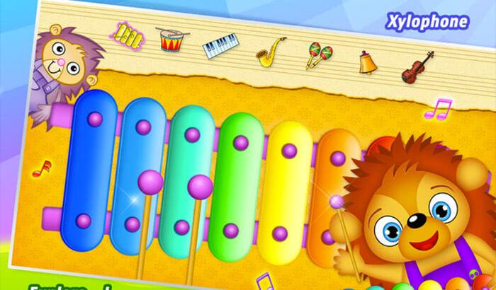 123 Kids Fun MUSIC iPhone and iPad Game Screenshot