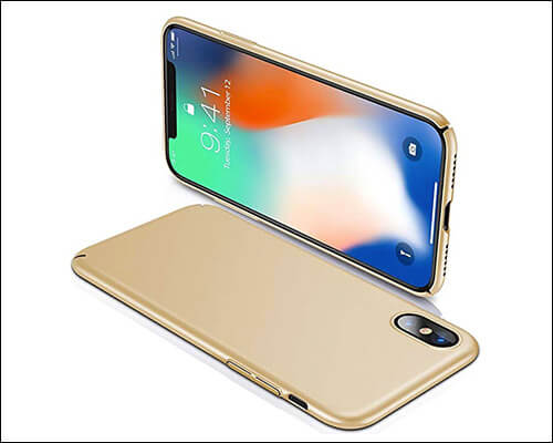 1Anberi Ultra Thinnest iPhone Xs Case