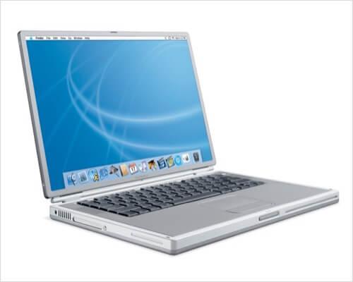 2001 – PowerBook Titanium G4