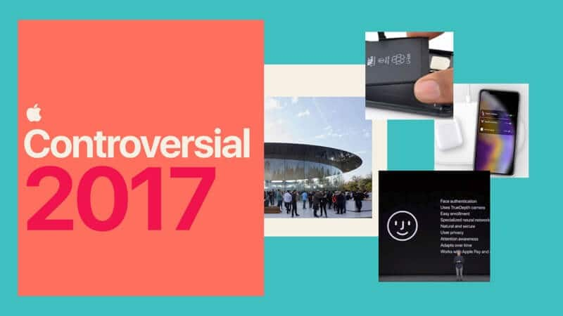 2017 Controversial Year for Apple