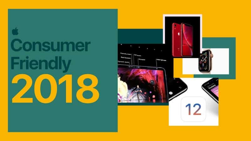 2018 Consumer Friendly Year for Apple