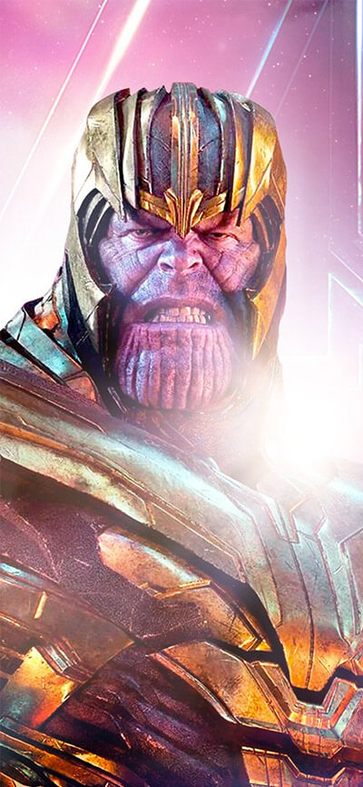 2019 Thanos Avengers Endgame iPhone Wallpaper
