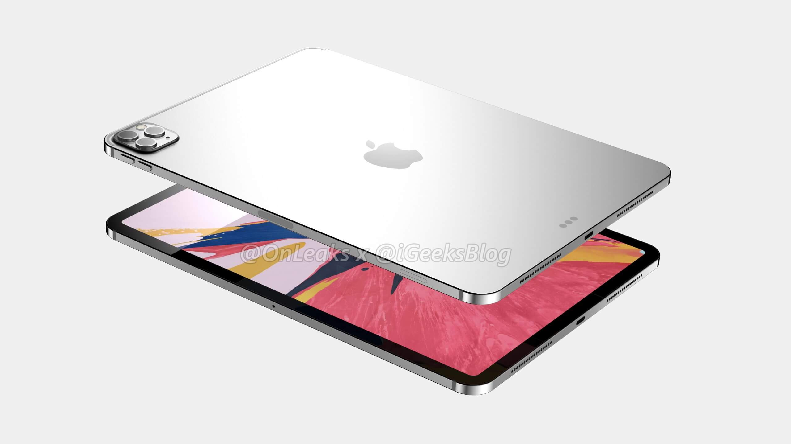 2020 11-inch iPad Pro with Metal Back
